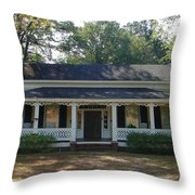 Aunt's Cottage Throw Pillow