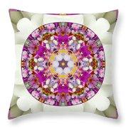 Aura Of Joy Throw Pillow