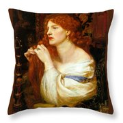 Aurelia Fazios Mistress Throw Pillow