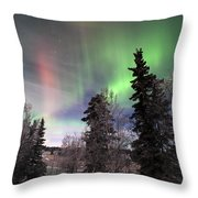 Aurora 2015 Throw Pillow