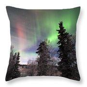 Aurora 2015 Throw Pillow