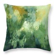 Aurora Borealis Abstract Throw Pillow