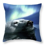 Aurora Dreaming Throw Pillow by Skye Ryan-Evans