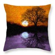 Aurora Goddess Of The Dawn Throw Pillow