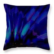Aurora Polaris Throw Pillow