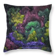 Aurora Reflection Throw Pillow