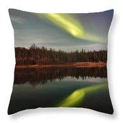 Aurora Reflections Throw Pillow