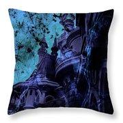 Aurora's Nightmare II Throw Pillow