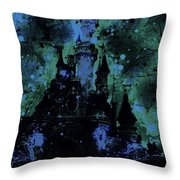 Aurora's Nightmare Throw Pillow