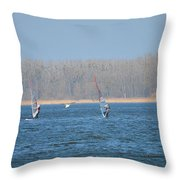 Auspicious Wind Throw Pillow