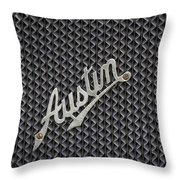 Austin 7 Throw Pillow