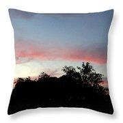 Austin Sunset Throw Pillow