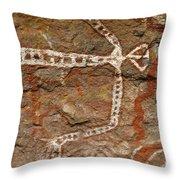Indigenous Aboriginal Art Art 1 Throw Pillow