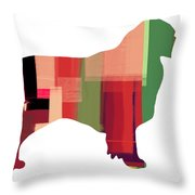 Australian Sheppard Throw Pillow by Naxart Studio
