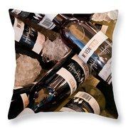 Australian Wine Throw Pillow