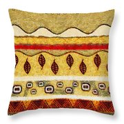Autemn River Throw Pillow by Sergey Khreschatov