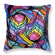 Authentic Relationship Throw Pillow