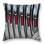 Auto Grill 4 Throw Pillow by Sarah Loft