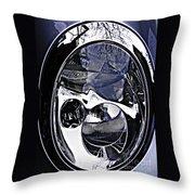 Auto Headlight 111 Throw Pillow