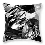 Auto Headlight 162 Throw Pillow by Sarah Loft