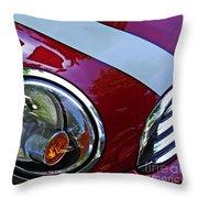 Auto Headlight 168 Throw Pillow