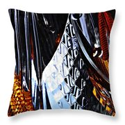 Auto Headlight 48 Throw Pillow