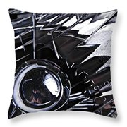Auto Headlight 65 Throw Pillow