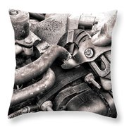 Auto Repair Throw Pillow