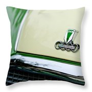 Auto Union Dkw Hood Emblem Throw Pillow