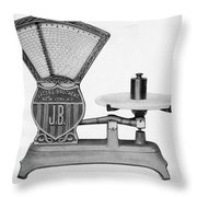 Automatic Computing Scale Throw Pillow