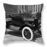 Automobile, 1921 Throw Pillow