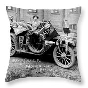 Automobile Buick, C1915 Throw Pillow
