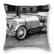 Automobile Disbrow, C1917 Throw Pillow