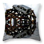 Automotive Throw Pillow