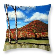 Autum Hill Throw Pillow