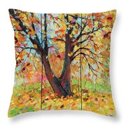 Autumn 1 Throw Pillow