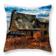 Autumn 1936 Throw Pillow