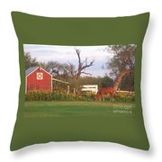 Autumn Abundance Throw Pillow