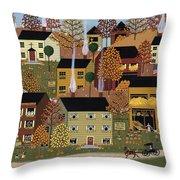 Autumn Afternoon Throw Pillow by Medana Gabbard
