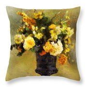Autumn Antiqua Throw Pillow