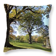Autumn At Runnymede Uk Throw Pillow