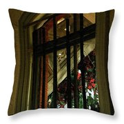 Autumn At The Old Sanitarium Throw Pillow