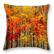 Autumn Banners Throw Pillow