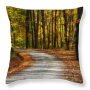 Autumn Beauty Throw Pillow
