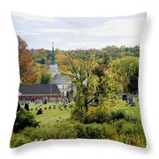 Autumn Blessings Throw Pillow