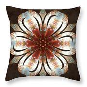 Autumn Blooming Throw Pillow by Derek Gedney