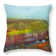 Autumn Bog Throw Pillow