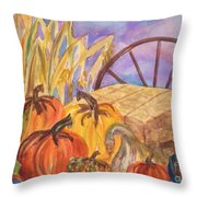 Autumn Bounty Throw Pillow