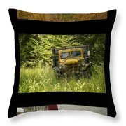 Autumn Boys Throw Pillow