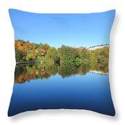 Autumn By The Lake 3 Throw Pillow